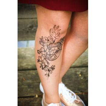 Collants tattoo...