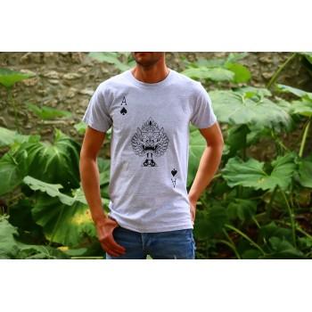 """T-Shirt Gris Homme """"As de..."""