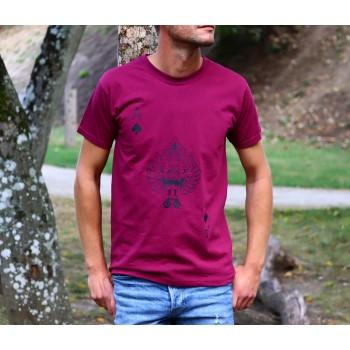 """T-Shirt bordeaux Homme """"As..."""