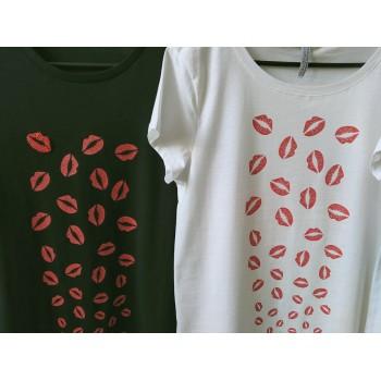 "T-shirt ""Bisous""..."